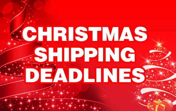 Christmas Shopping Deadlines