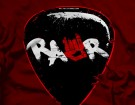 rawr-guitar-pick shirt emo clothing