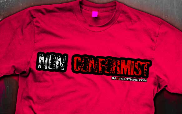 Non Conformist Emo Shirts