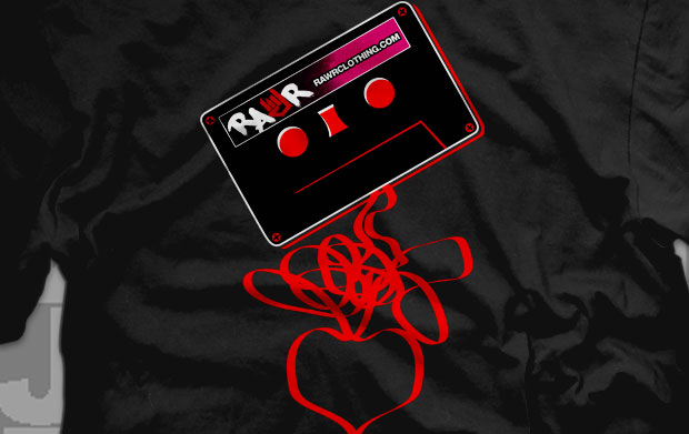 Rock Tape Love Shirts