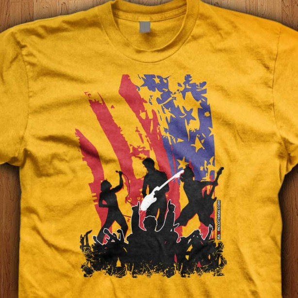 America-Rocks-Yellow-Shirt