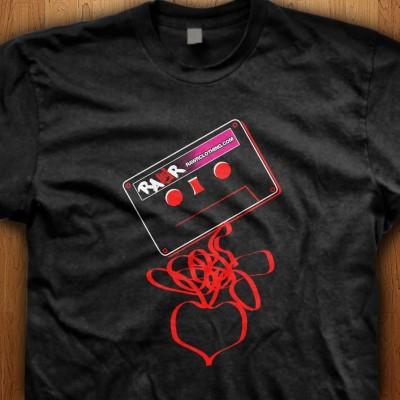 Cassette-Tape-Love-Black-Shirt