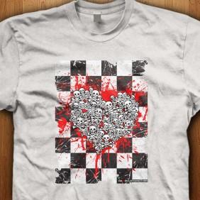 Emo-Ska-Skull-White-Shirt