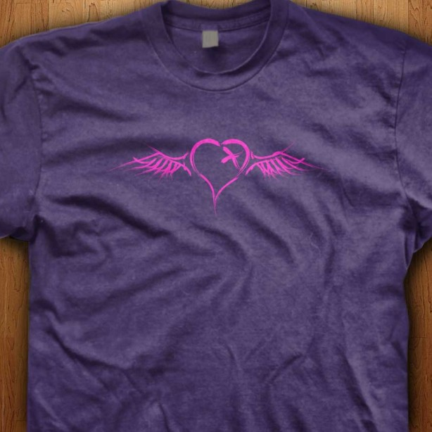 Emo-Winged-Heart-Purple-Shirt