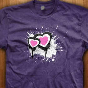 Exploding-Hearts-Purple-Shirt