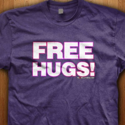 Free-Hugs-Purple-Shirt