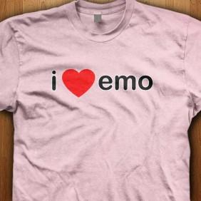I-Love-Emo-Pink-Shirt