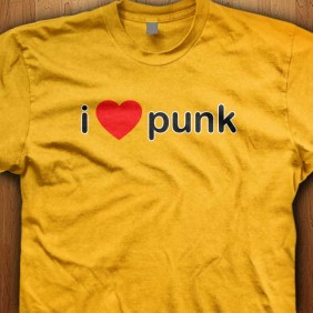 I-Love-Punk-Yellow-Shirt