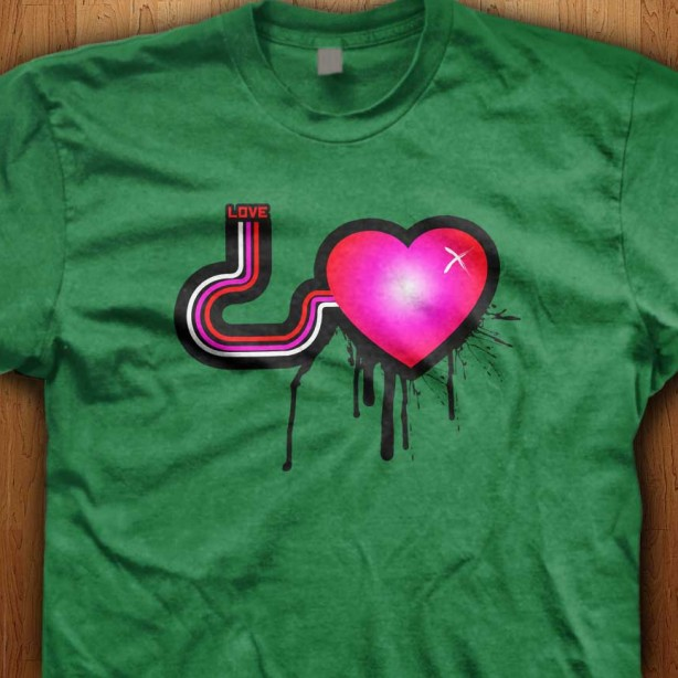 Love-Pump-Green-Shirt