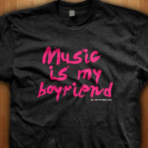 Music-Is-My-Boyfriend-Black-Shirt
