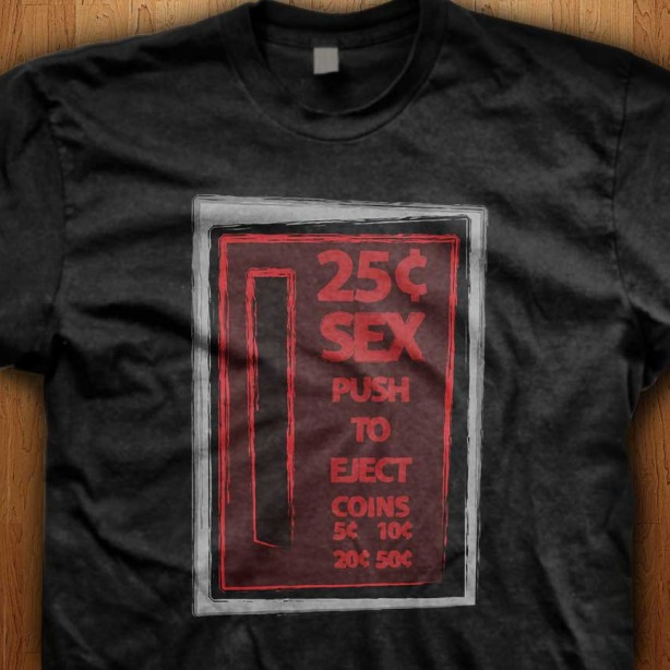 25c-Sex-Black-T-Shirt