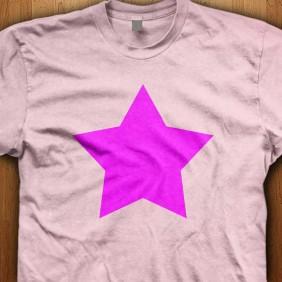 Emo-Star-Pink-T-Shirt