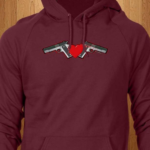Gun-Love-Red-Hoodie