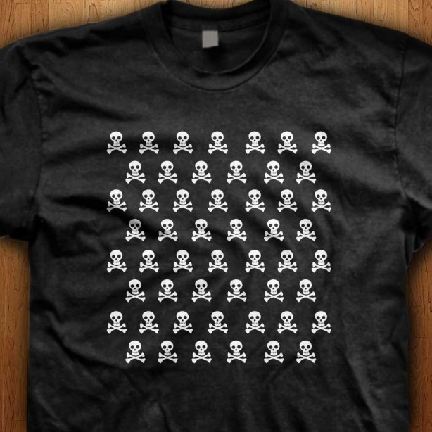Skull-Black-T-Shirt